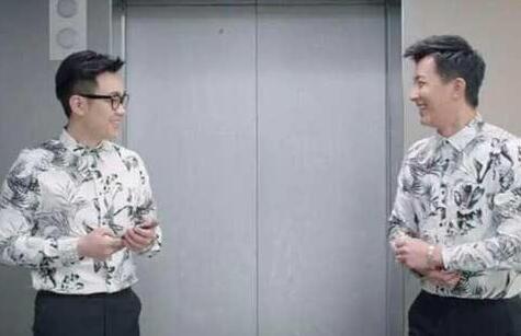 吊丝男_《屌丝男士》中,大鹏与韩庚的撞衫.