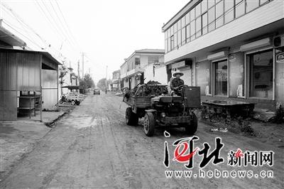 淤泥清理后的街道
