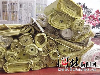 杨春广的百万字长卷连起来约有4000米。