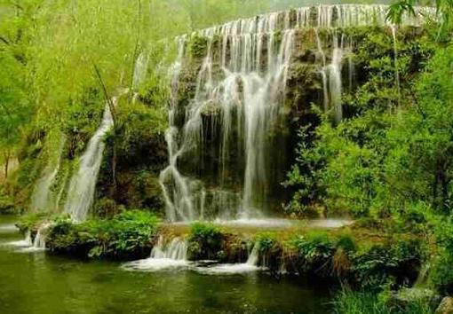 沕沕水生态风景区位于革命老区河北省平山县西南边缘,旅游面积11.