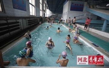 石家庄游泳场所_石家庄市游泳馆为何这么挤?(图)-河北新闻-河北新闻网
